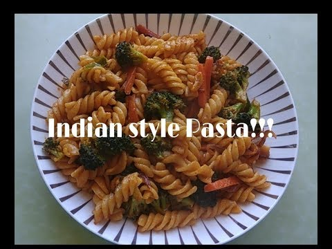 Quick and simple Pasta preparation in Indian style | Pasta preparation in Pressure cooker.
