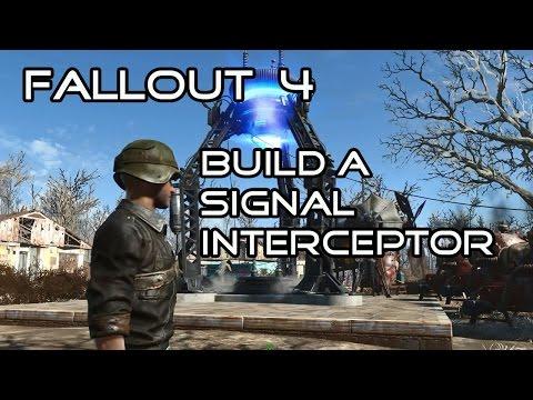 Fallout 4 Build a Signal Interceptor  - Molecular Level Quest