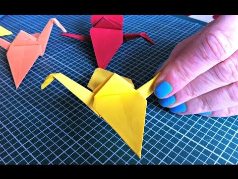 Origami Paper Crane How To