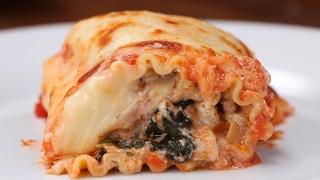 Make-Ahead Lasagna Roll-Ups