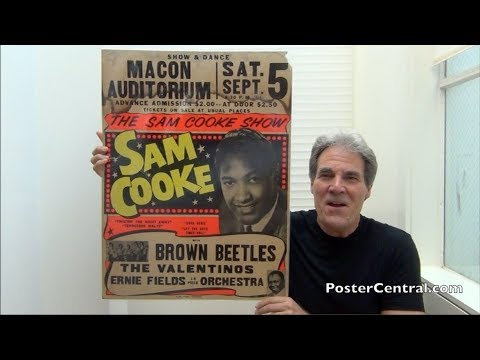 """""""The Tan & Brown Beatles"""" Crazy 1964 Concert Posters, Before Lawyers Got Involved"""