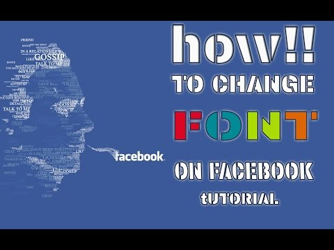 How to change fonts on Facebook status ?||stylish Font.