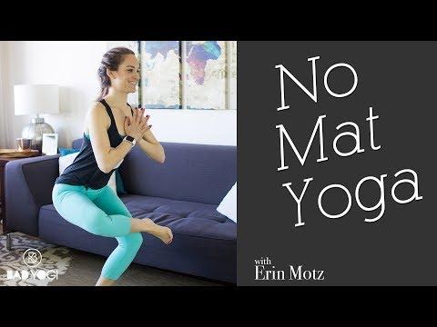 No Mat Yoga