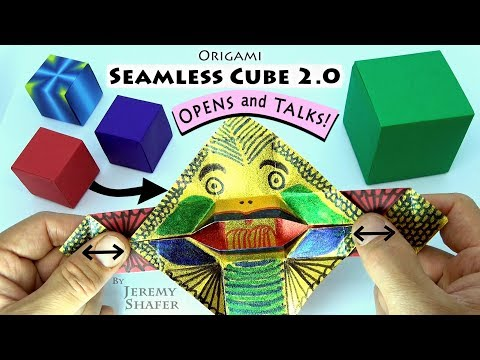Seamless Cube 2.0 -- TRANSFORMS INTO TALKING MONSTER!!!