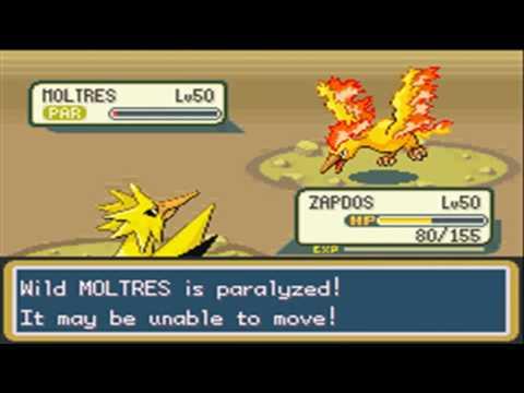 Pokemon FireRed Adventures Part 56: Moltres, the Legendary Fire Bird