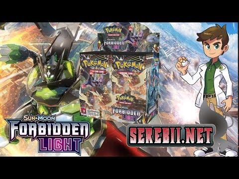 Serebii Opens: Forbidden Light Booster Box