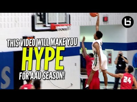 THIS VIDEO WILL GET YOU HYPE FOR AAU! Basketball Motivation Top Plays!