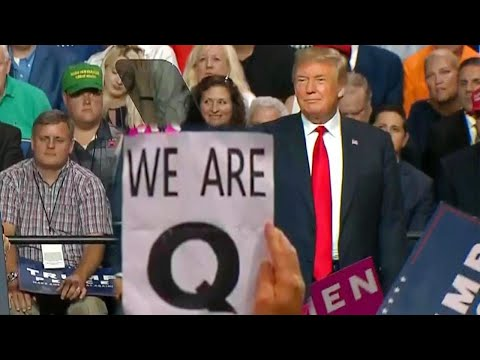 Xxx Mp4 Why Was The Letter 'Q' Everywhere At President Trump's Florida Rally 3gp Sex