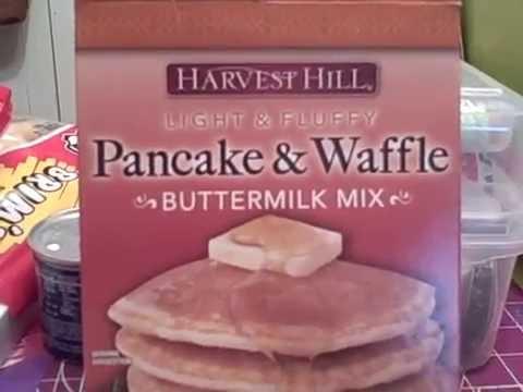 Dollar Tree Pancake/Waffle Mix Review!!