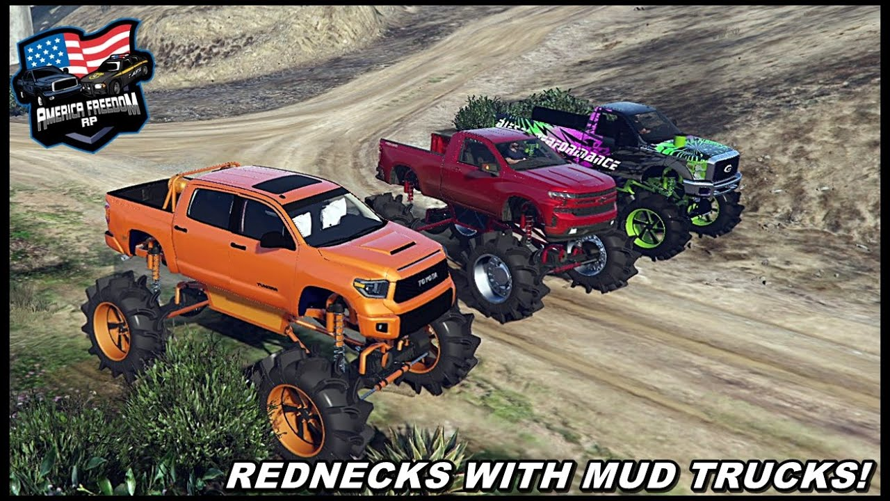 EXTREME OFFROAD TESTING THE MUD TOYOTA!! (ENDS BAD) - GTA 5 ROLEPLAY - America Freedom RP