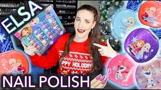 Adult Reviews Kids Elsa Nail Polish (not for kids)