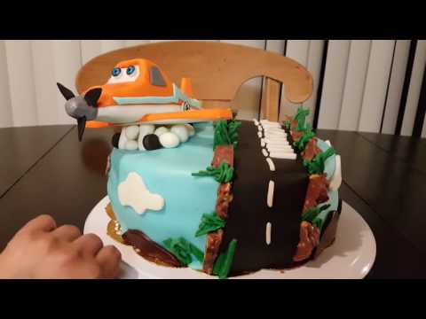 Planes/Aviones Cake/pastel, fondant