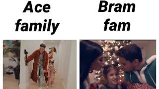 Ace family vs bram fam Christmas intro