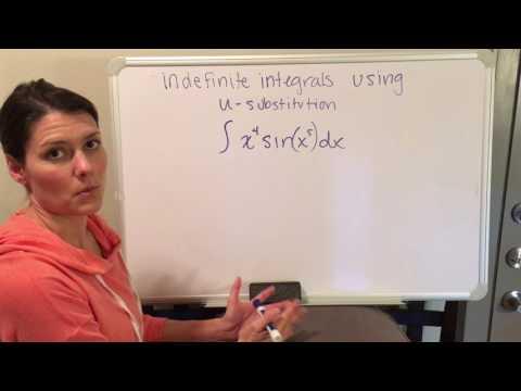 Indefinite Integral Using u - Substitution