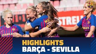 FC BARCELONA 6 - 2 SEVILLA FC | Match highlights (Liga)