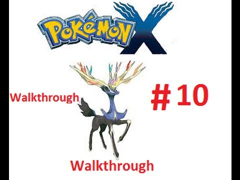 Pokemon X Walkthrough part 10 | the Cyllage City gym. (Part 9 got deleted, sorry)