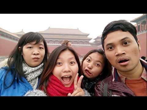 VLOG Great Wall Of China, Wangfujing, Forbidden City Part 1 Beijing 2015