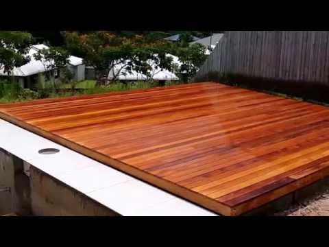Poolside Deck on Slab in Redlynch