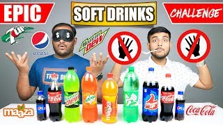 EPIC SOFT DRINKS CHALLENGE | Cold Drinks Competition | Food Challenge