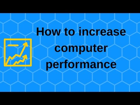 How to increase computer performance – Boost computer speed
