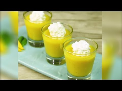 How To Make Eggless Mango Mousse at Home | Eggless Mango Mousse Recipe | Summer Recipe