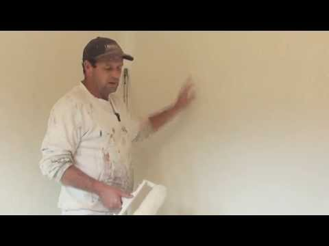 How To Paint A Rendered or Textured Wall