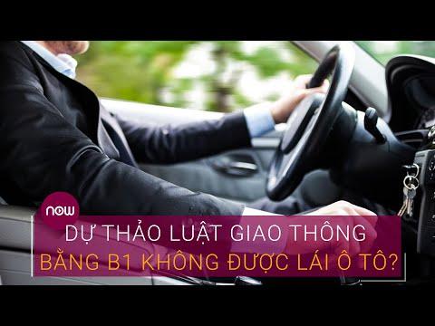 Dự thảo Luật Giao thông đường bộ sửa đổi: Bằng B1 không được lái ô tô? | VTC Now