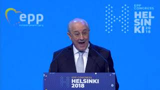 EPP Helsinki Congress - Rui RIO, President of the Social Democratic Party | Portugal