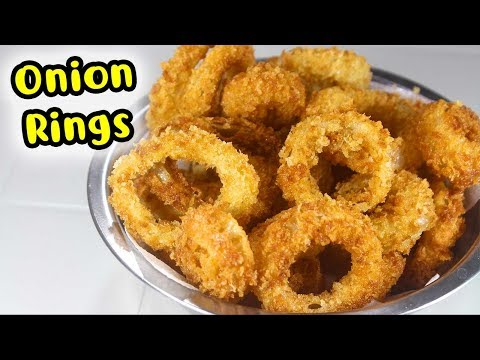 How to make Crispy Onion Rings