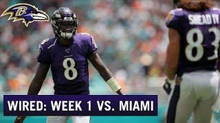 Wired Week 1: Lamar Jackson, Ravens Start Hot in Miami