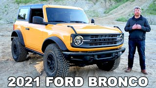 2021 Ford Bronco - Complete Look At The New Bronco