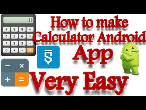 How to make calculator app in Sketchware| Sketchware Tutorials