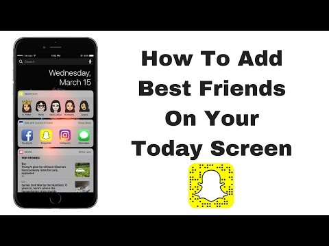 Snapchat: How to Add Best Friends To Today Screen