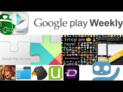 Swype on Smartwatches, CyanogenMod GalleryNext, Swiftkey Emojis - Google Play Weekly