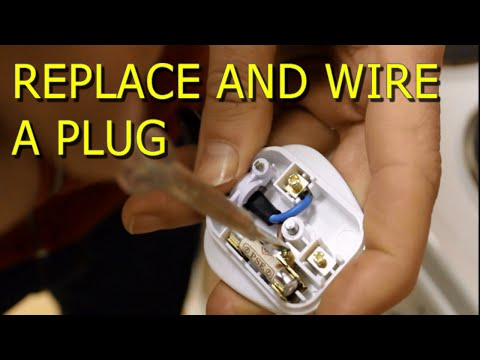 How to Replace and Wire a Electrical Plug Video