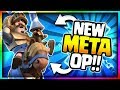 BEST CARD After UPDATE Amazing No Legendary Deck Clash Royale Giant Deck New Update Gameplay mp3