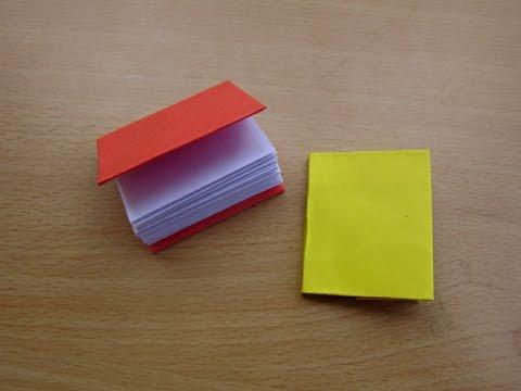 How to Make a Paper Modular Mini Book - Easy Tutorials