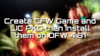 how to launch ps3 c00 games from psn without converting to ofw