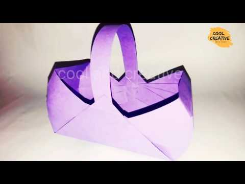 basket making - DIY 3 easy paper basket - Easy and fun craft ideas for kids - cool and creative #131