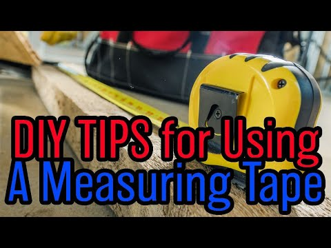 How To Use a Measuring Tape