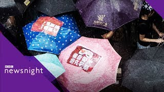 Hong Kong protests: 'When we are afraid, we start losing' - BBC Newsnight