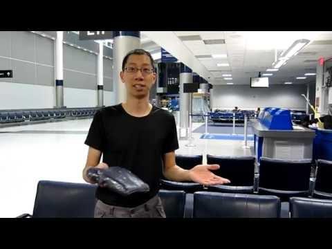 Sleeping at Houston Intercontinental Airport (IAH)