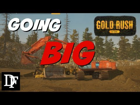 Going Big! Building A Full Scale Mining Operation - Gold Rush: The Game