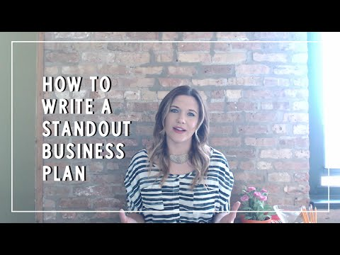How to Write a Standout Business Plan