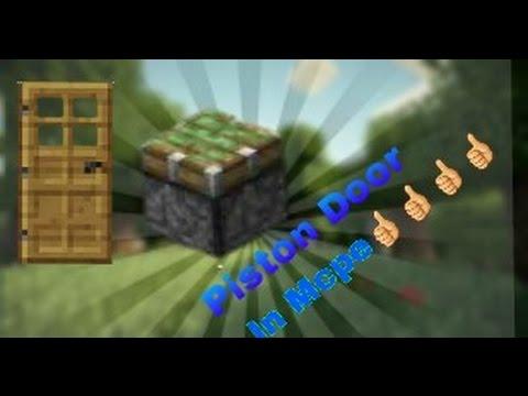Mcpe 0.15.0 2x2 Piston Door