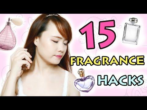 Beauty Hacks - 15 FRAGRANCE HACKS - Longer Lasting Perfume