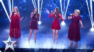 The Garnett Family perform Natural Woman | Semi-Final 2 | Britain's Got Talent 2016