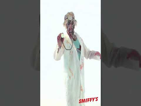 31907 Zombie Doctor Costume White and Green Video