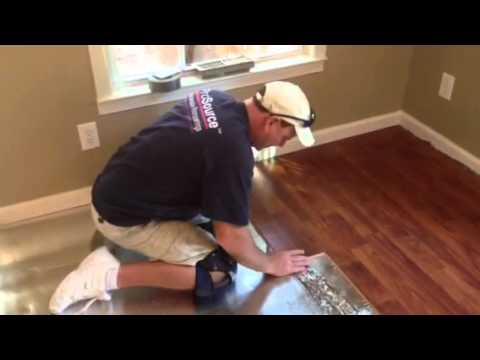 HOW TO INSTALL A LAMINATE FLOOR