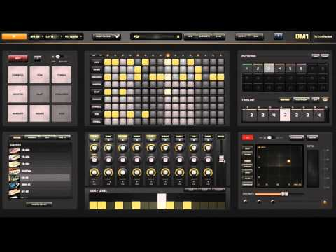 Making Beats with DM1 from the Apple App Store